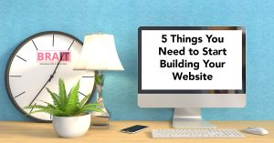 5 Things You Need to Start Building Your Website
